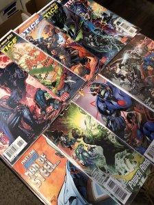 Justice League 9 book combo