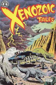 Xenozoic Tales #2 VF/NM; Kitchen Sink | save on shipping - details inside
