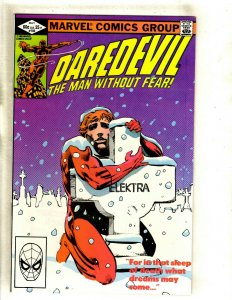 Daredevil # 182 NM Marvel Comic Book Frank Miller Elektra Bullseye Hand HJ9