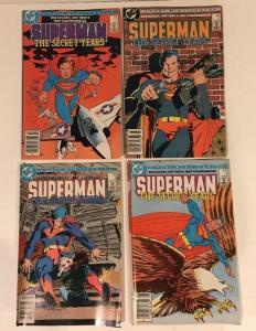 Superman The Secret Years 1-4 Complete FN Lot Set Run Frank Miller