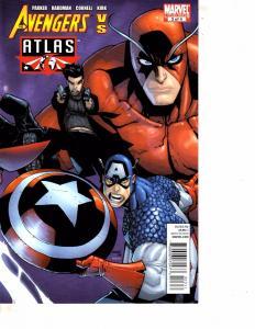 Lot Of 2 Marvel Comic Book Secret Avengers #1 and Avengers vs Atlas #3    MS22