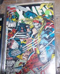 X Men  # 5 feb 1992 marvel  wolverine vs omega red gambit rogue