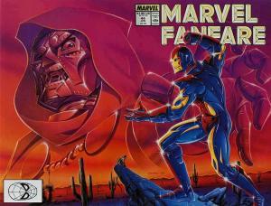 Marvel Fanfare #44 FN; Marvel | save on shipping - details inside