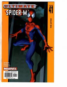 Lot Of 5 Ultimate Spider-Man Marvel Comic Books # 41 42 43 44 45 NM 1st AK7
