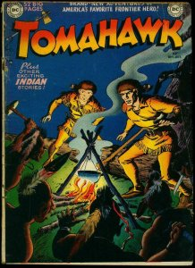 Tomahawk #1 1950- DC Golden Age 1st issue- Fred Ray FR/G