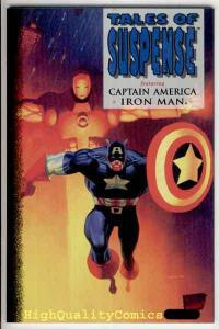 TALES of SUSPENSE #1, NM+, Captain America, Iron Man 1994, Marvel