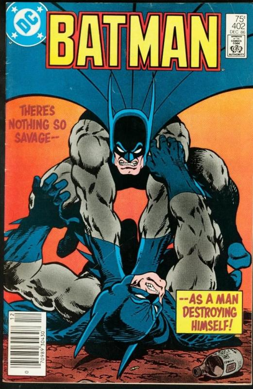 BATMAN #402-1986-DC FN/VF
