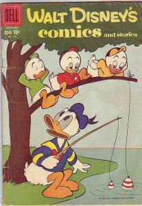 Comics and Stories, Walt Disney's #228 (Sep-59) VG Affordable-Grade Donald Du...