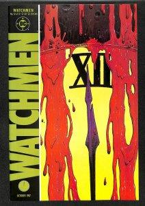 Watchmen #12 VF- 7.5 Death Of Rorschach!