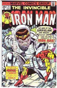 Iron Man #74 (May-74) VF/NM High-Grade Iron Man