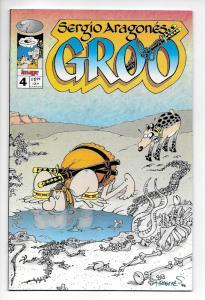 Sergio Aragones Groo #4 (Image, 1995) VF/NM