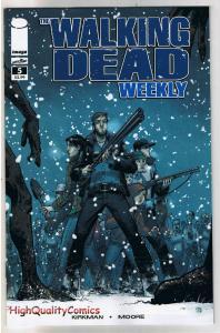 WALKING DEAD WEEKLY #5, NM, Zombies, Horror, Robert Kirkman, 2011, Brains, Flesh