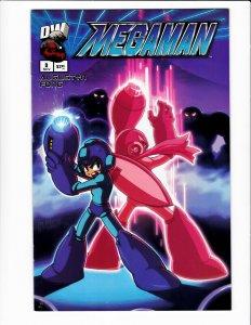 Megaman #3 Dreamwave 2003 VF/NM 9.0 Mic Fong art. Video game character.