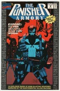 Punisher Armory #2 (Marvel, 1991) VF/NM