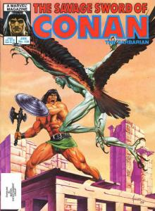 Savage Sword of Conan #108 VF/NM; Marvel | save on shipping - details inside