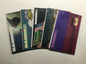 Barrier 1 2 3 4 5 Complete Lot Run Set Near Mint Nm Image