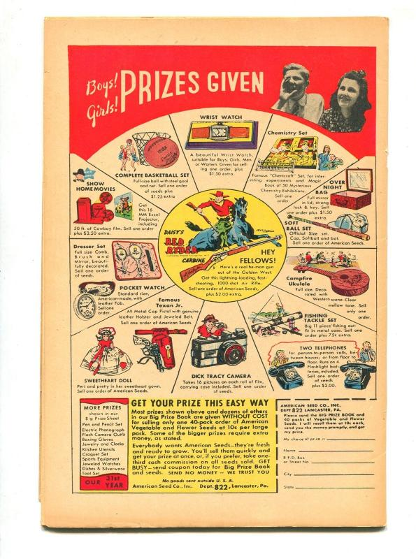 COMICS ON PARADE #64 1949-ERNIE BUSHMILLER-VF-