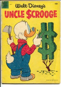 Uncle Scrooge #9 1955-Dell-Carl Barks art-G
