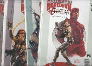 Ultimate Daredevil Elektra Set #1to4 (Jan-09) NM Super-High-Grade Daredevil