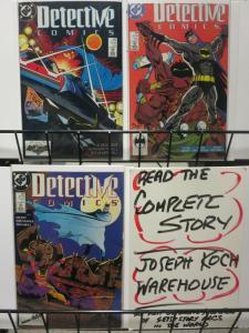 DETECTIVE 601-603 Tulpa Batman & The Demon story!