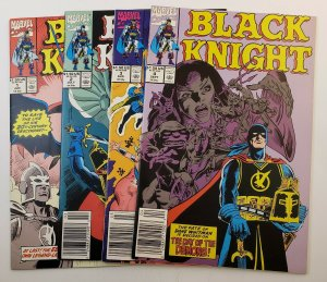 Black Knight  #1-4 Set From FN/VF Marvel Comics 1990