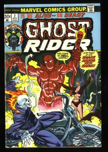 Ghost Rider #2 FN- 5.5 1st Daimon Hellstorm!