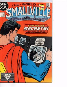 DC Comics Superman The World of Smallville #1 (1988) Bryne