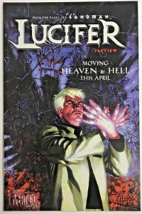 LUCIFER PREVIEW VF/NM 2000 DC/VERTIGO COMICS