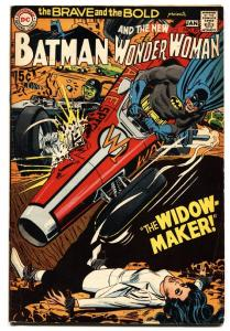 Brave And The Bold  #87 1969  Batman  Wonder Woman Widow Maker