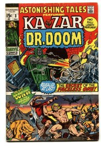 ASTONISHING TALES #3-Black Panther-DR. DOOM-WALLY WOOD comic book