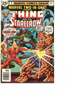 Marvel Two-In-One 18 VG