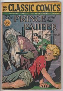 Classic Comics #29 (Jul-46) VG+ Affordable-Grade