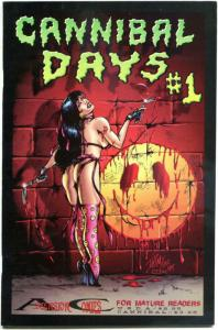 CANNIBAL DAYS #1, VF, David Miller, 1994, Ascension Comics, more indies in store