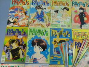 32 Ranma 1/2 Rumiko Takahashi Viz Select Manga Comic Books Parts 2 3 4 MINT