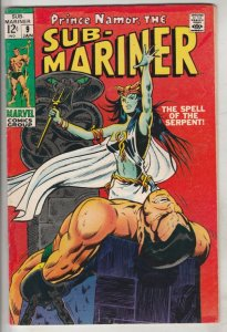Sub-Mariner #9 (Jan-69) VF/NM High-Grade Sub-Mariner (Prince Namor)