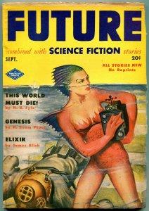 Future Pulp September 1951- This World Must Die- Genesis VG-