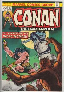 Conan the Barbarian #38 (May-74) VF/NM High-Grade Conan the Barbarian