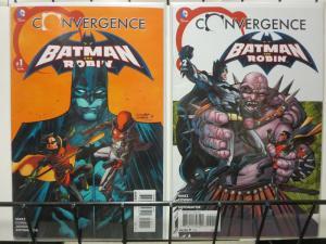 CONVERGENCE BATMAN & ROBIN (2015) 1-2