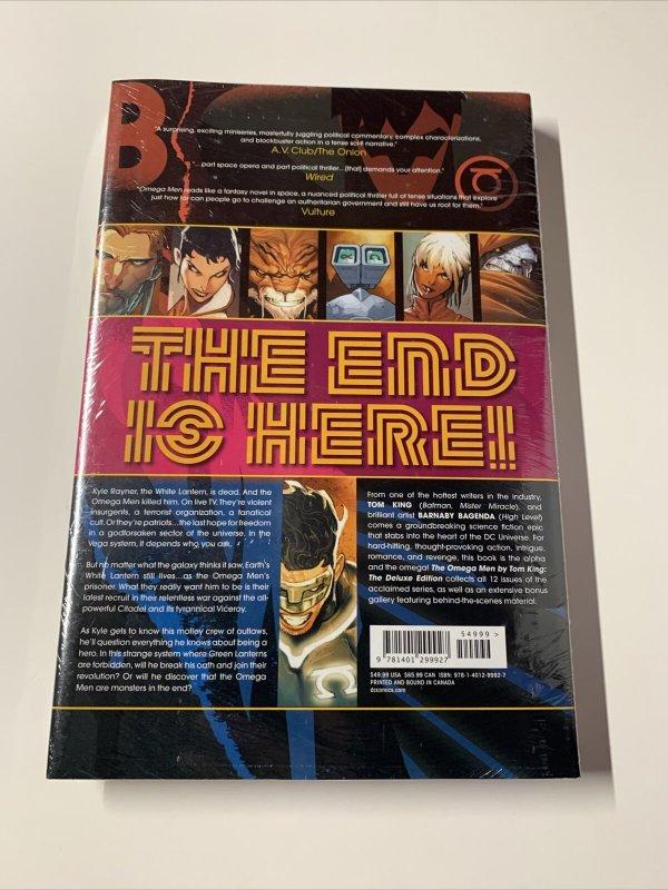The Omega Men Omnibus Deluxe Edition Mint Sealed  Dc Comics Hc Tpb