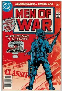 MEN OF WAR (1977-1980) 1 VG-F Aug. 1977