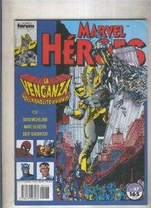 Marvel Heroes numero 47: Monolito viviente (numerado 3 en trasera)