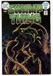 SWAMP THING #8-DC-1974-BERNI WRIGHTSON-VF-
