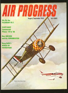 Air Progress Magazine August/September 1963 Tommy Morse Meets Piper Cover