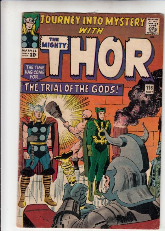 Journey into Mystery #116 (May-65) VG+ Affordable-Grade Thor