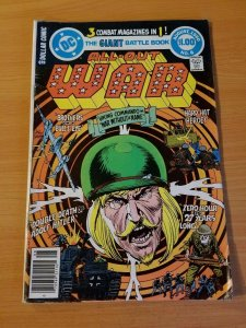 All Out War #6 ~ FINE - VERY FINE VF ~ (1980, DC Comics)
