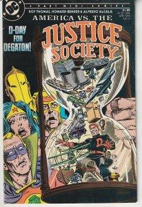 America vs the Justice Society # 4    The Verdict is in !
