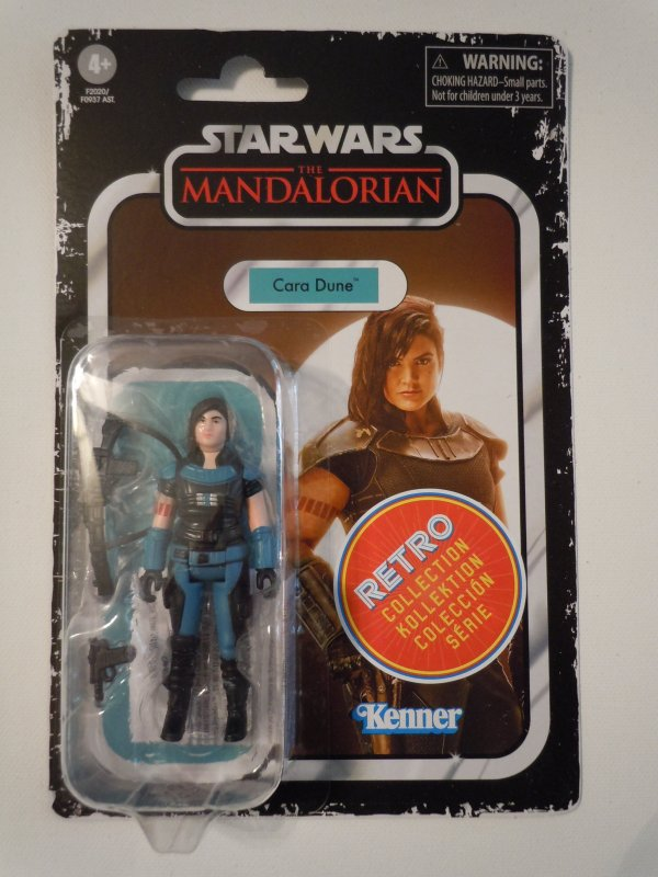 Star Wars The Retro Collection Cara Dune 3.75-inch Scale Action Figure