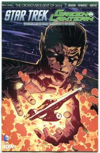 STAR TREK GREEN LANTERN #4 S, NM, Spock, Kirk, War, 2015, IDW, more in store