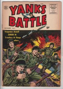 Yanks In Battle #4 (Dec-56) FN+ Mid-High-Grade