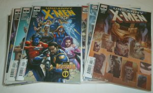 Uncanny X-Men V5 #1-22, Annual #1 Age of 2018 complete set comic book lot of 24